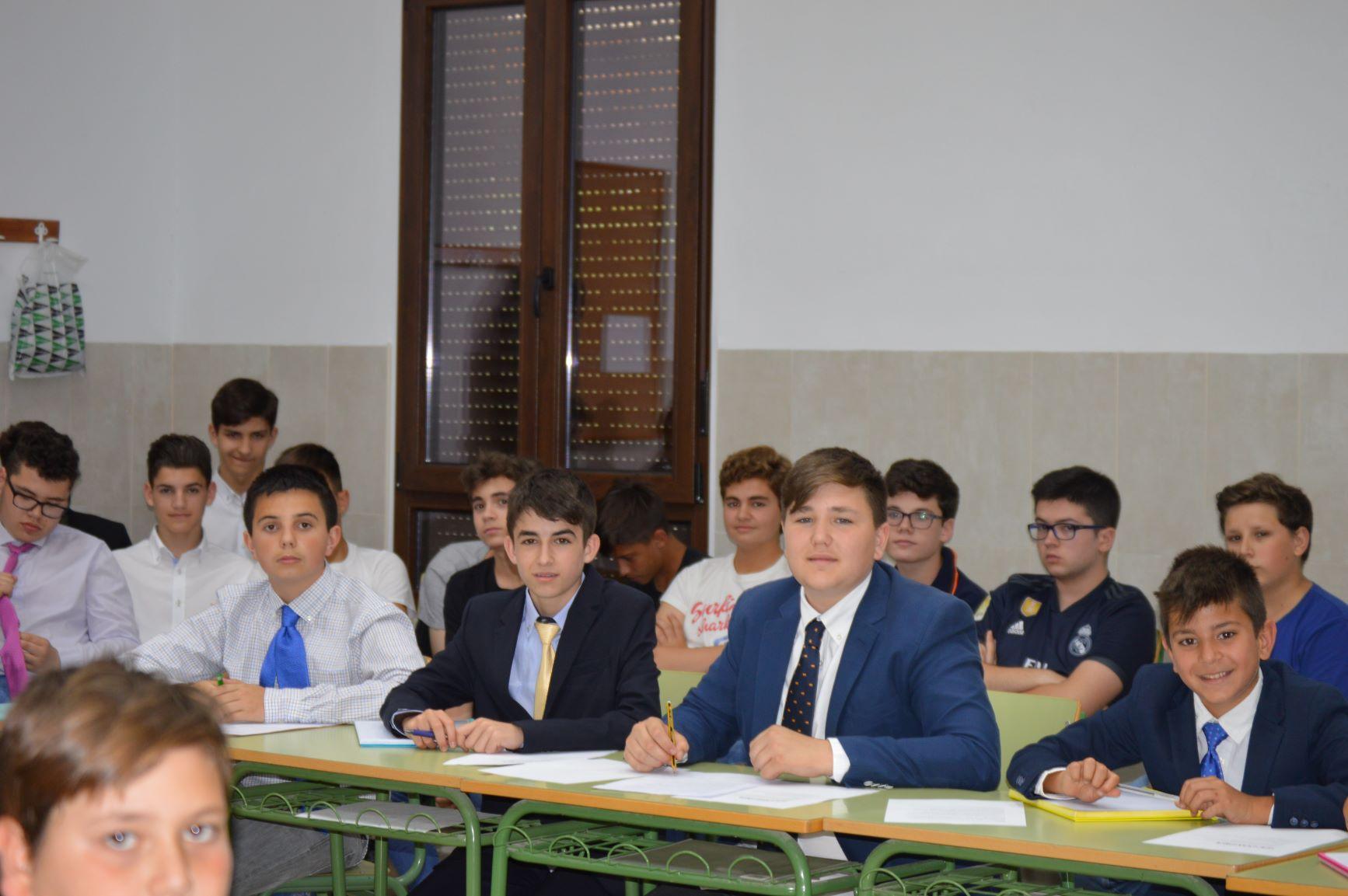 Finales del I Torneo de debate escolar de los alumnos de 1º y 2º de ESO