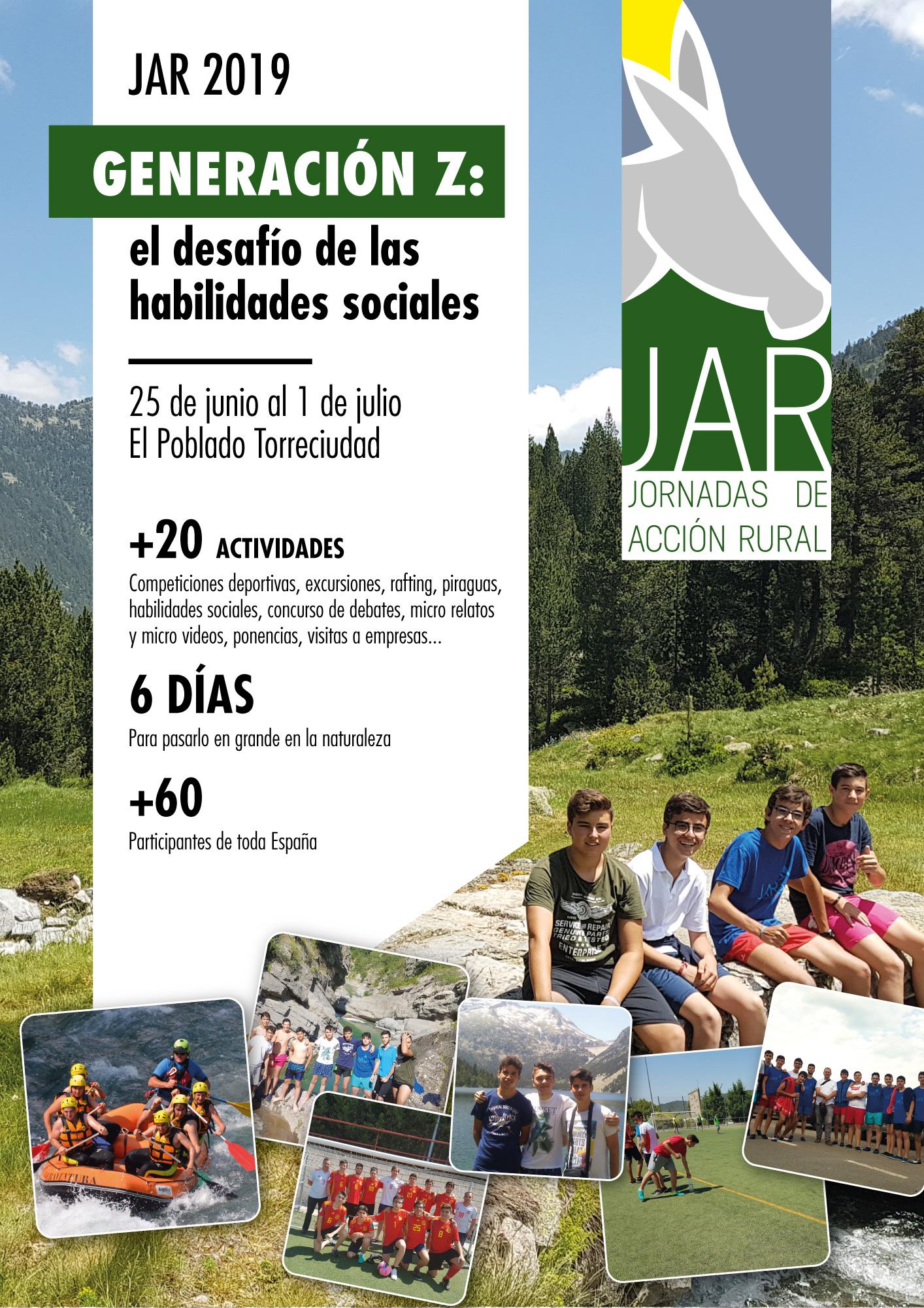 Torrealba participará en las Jornadas de Acción Rural en los Pirineos