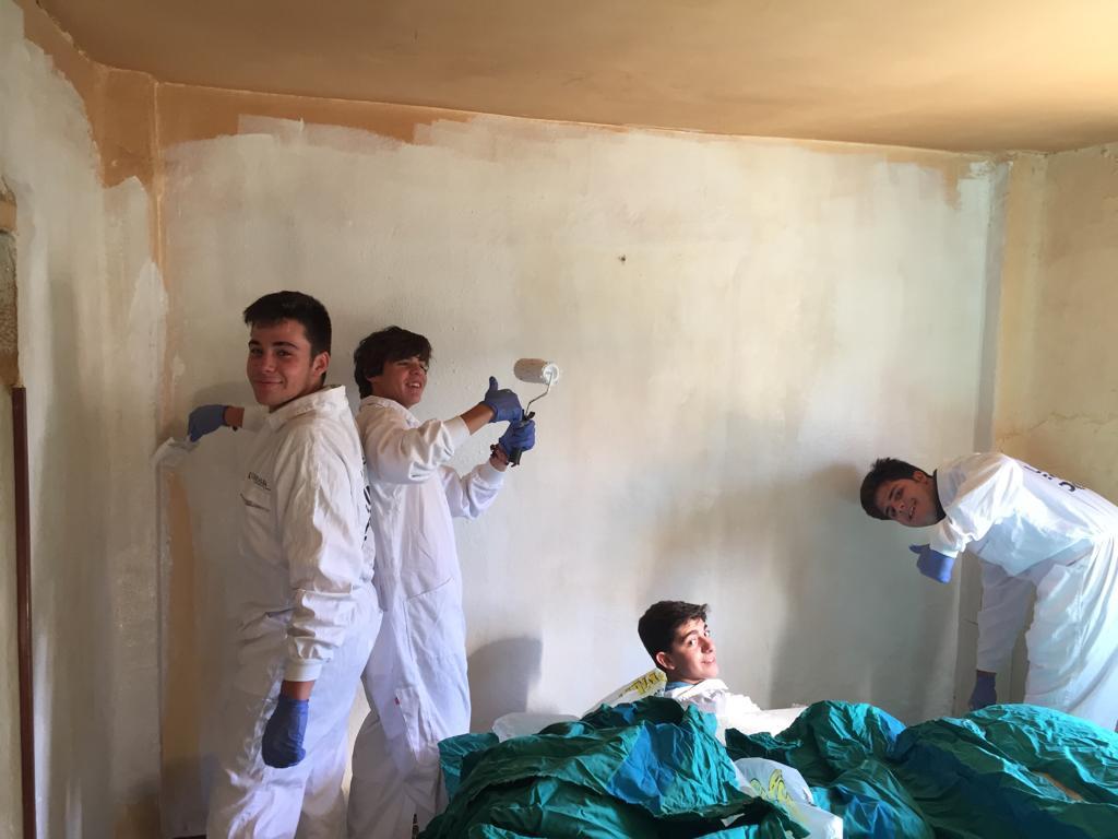 Voluntariado de los alumnos de Bachillerato