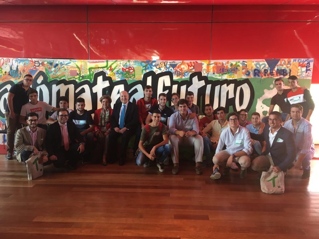 Alumnos de Torrealba participan en el I Encuentro de Jóvenes de la Fudación Tatiana