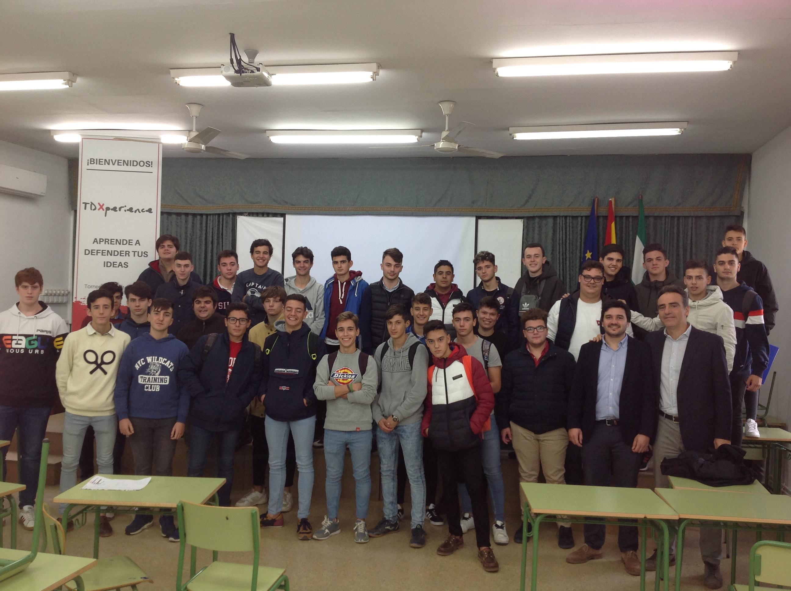 Espectacular curso de oratoria y debate en Torrealba, impartido por la empresa TDxperience, de Barcelona