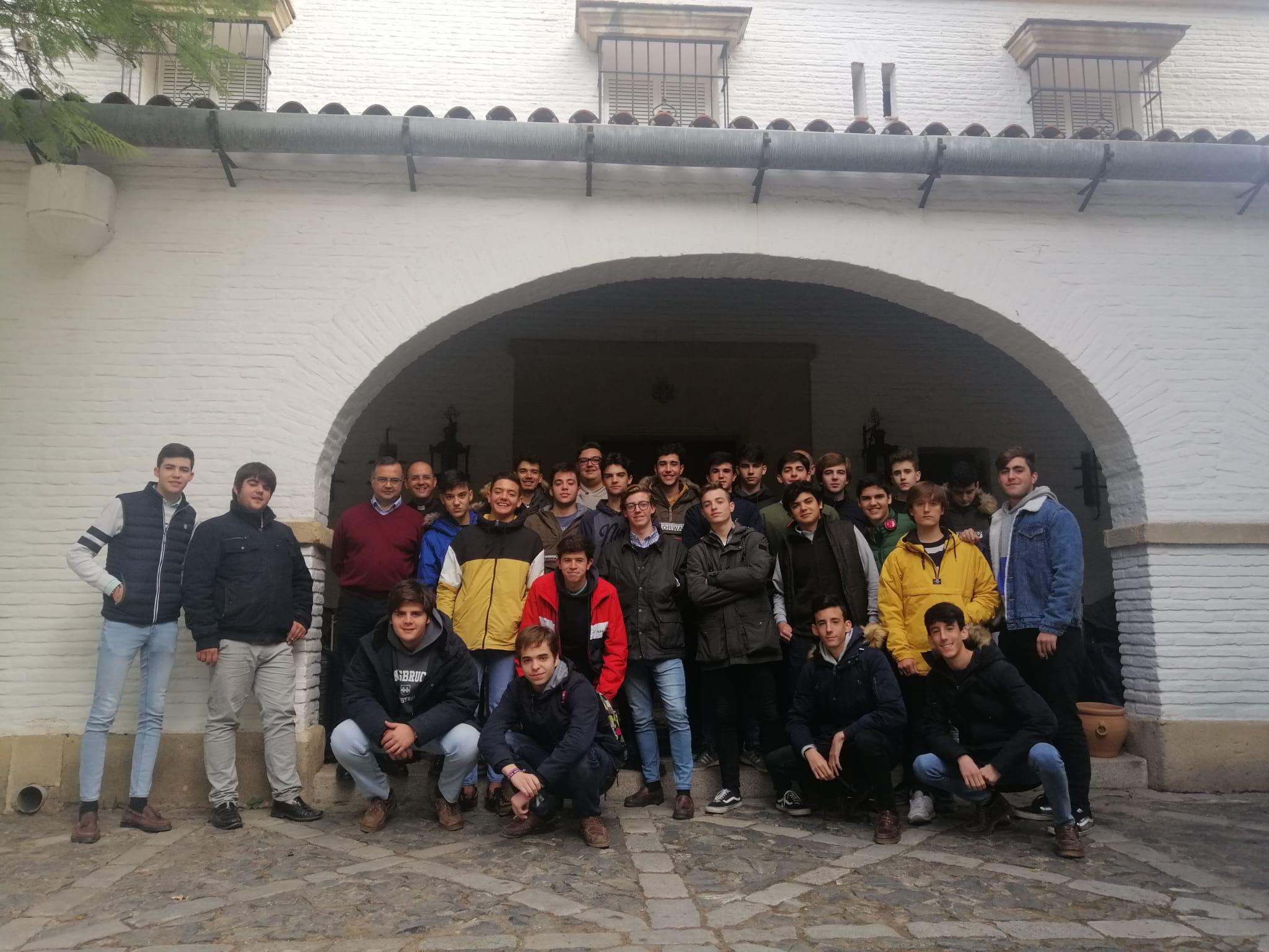 Alumnos de Bachillerato realizan un curso de retiro espiritual en Pozoalbero