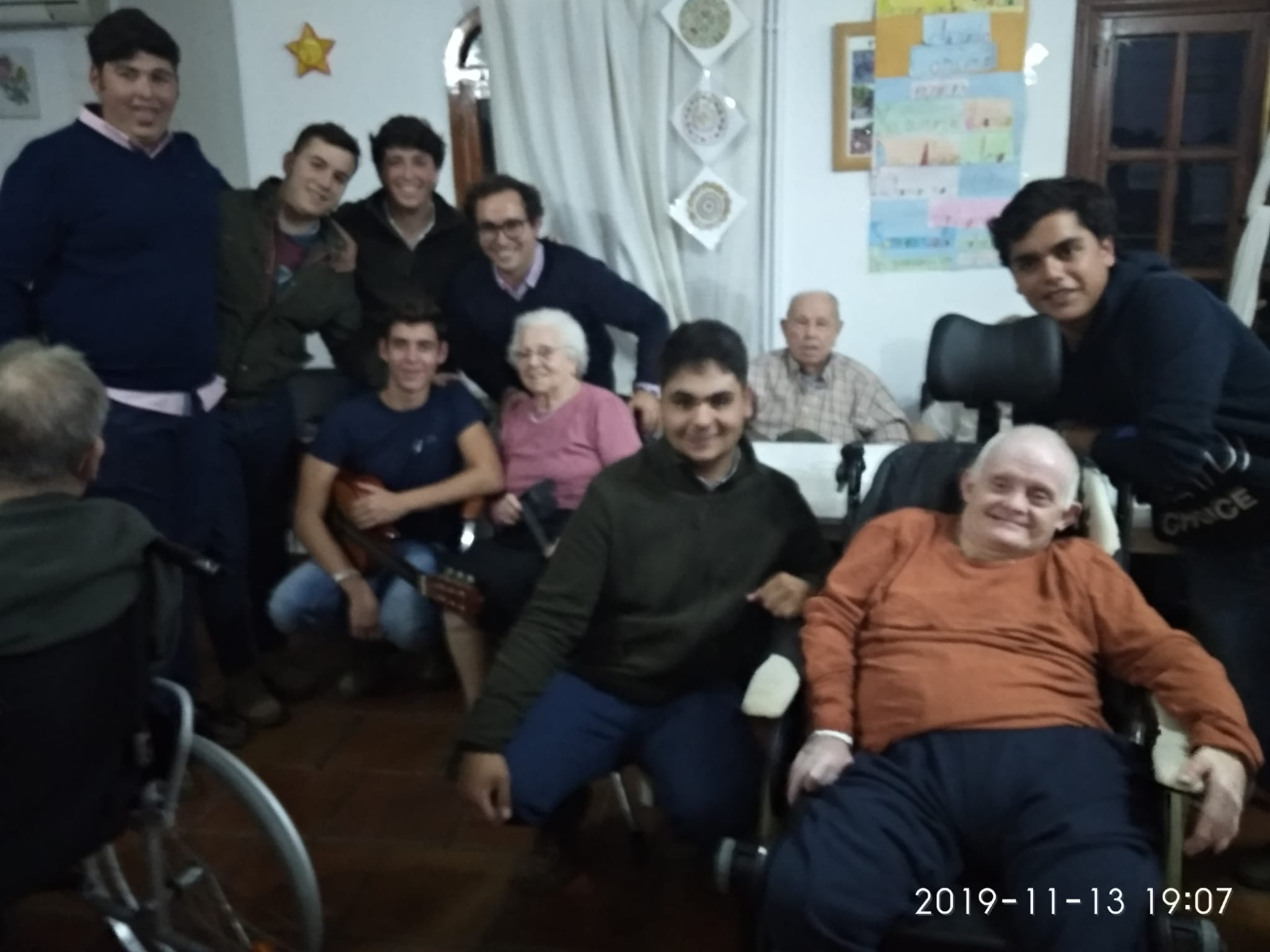 Torrealba es solidaridad y alegría
