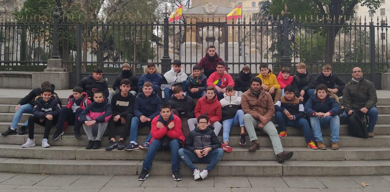 ¡Qué bien lo pasaron los alumnos de 1º y 2º de ESO en la convivencia a Madrid!