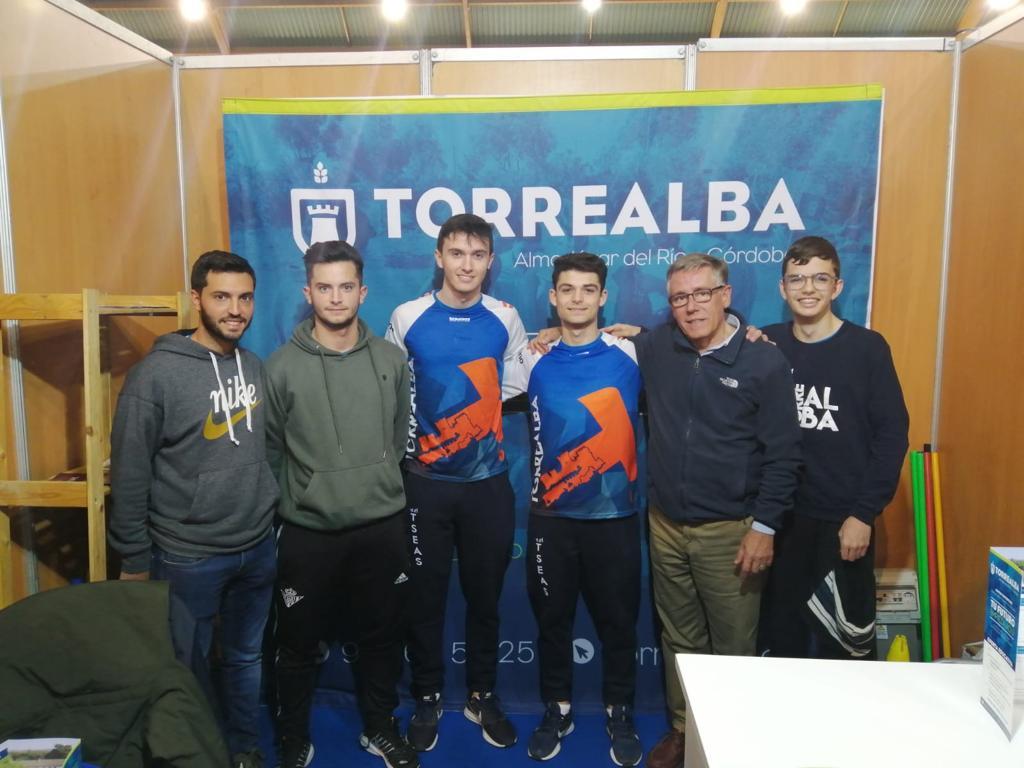 Torrealba, presente en el Salón del Estudiante de Lucena