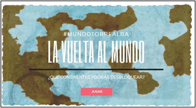Nuevo reto para las familias y los alumnos de Torrealba: LA VUELTA AL MUNDO