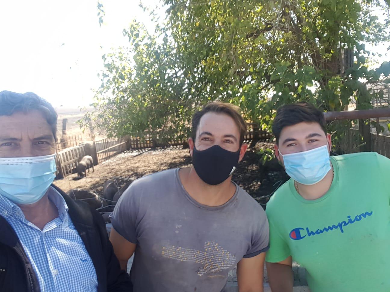 Prácticas de nuestros alumnos del Ciclo de Producción Agropecuaria